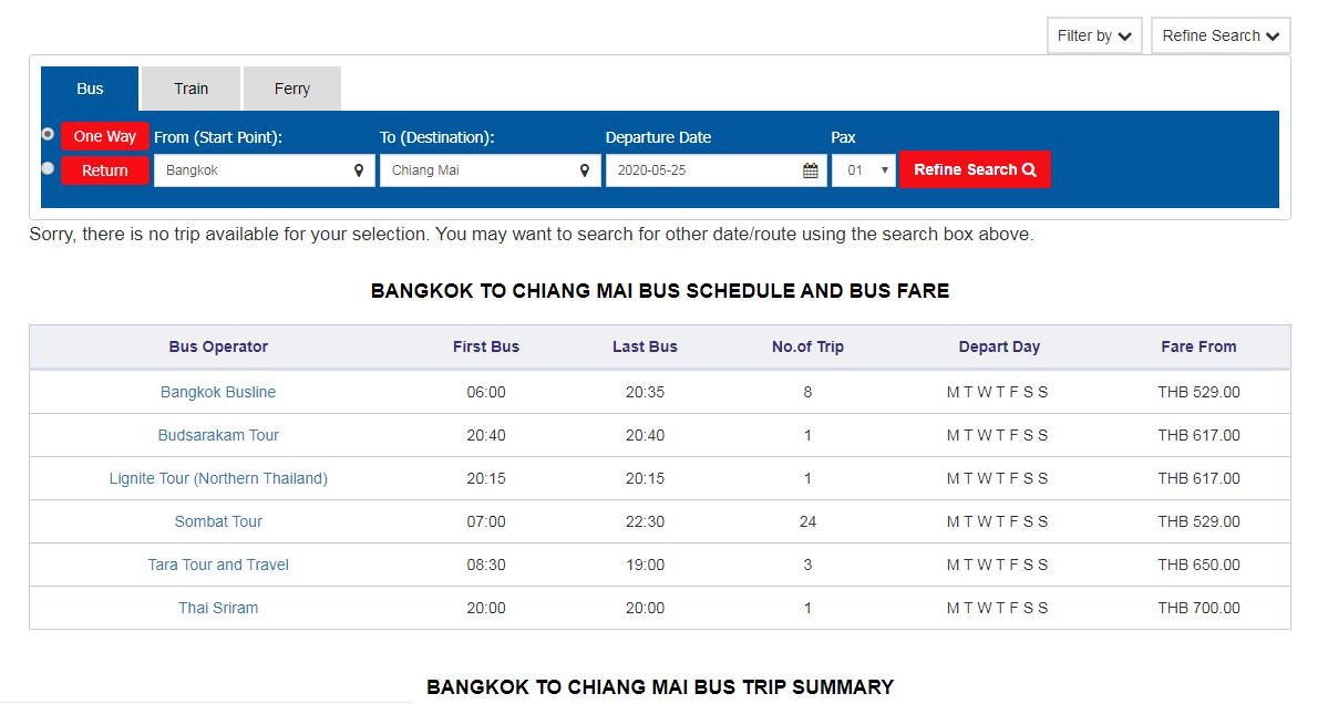 จองตั๋วรถโดยสาร Bus online  - ShopBack