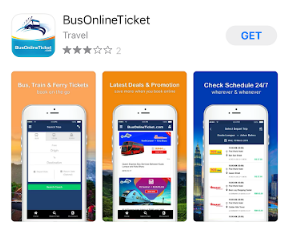 bus online ticket app - ShopBack