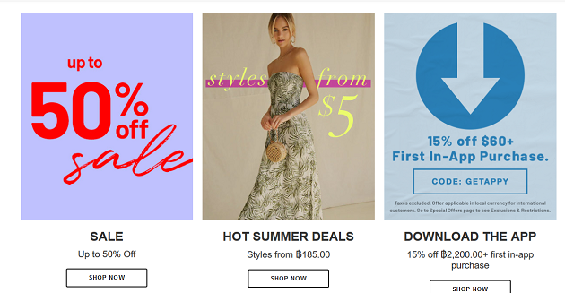 forever 21 promotion