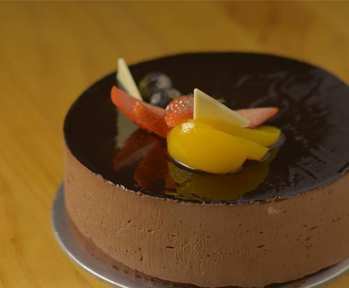 1 x 0.5kg Chocolate Sensation Cake