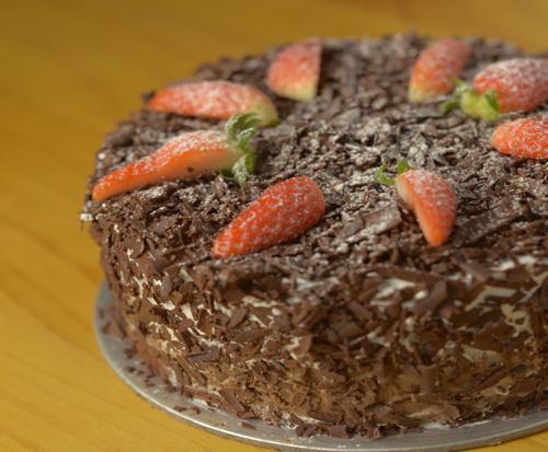 1 x 0.5kg Black Forest Cake