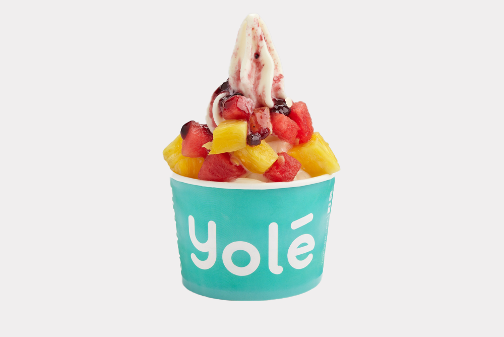1 x Extra Large Cup of Ice Cream with 4 Toppings at Yolé - Get Deals, Cashback and Rewards with ShopBack GO