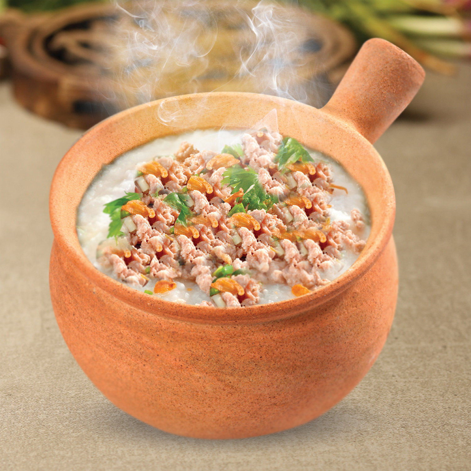 1 x Dried Scallop Porridge with Minced Meat [Exclusive Deal]
