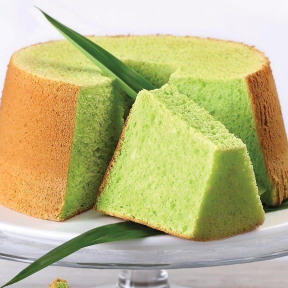 1x 400g Pandan Chiffon Cake