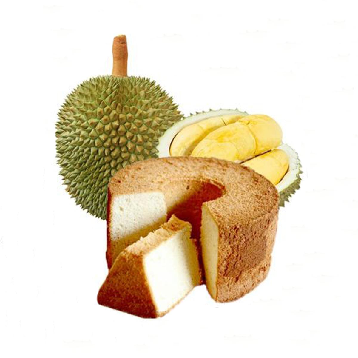 1x 400g Mao Shan Wang Durian Chiffon Cake