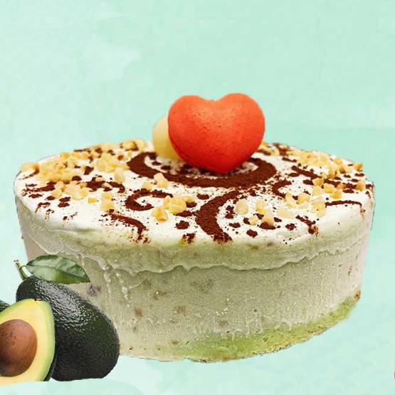 1x 600g Avocado Gelato Concepts Italian Ice Cream Cake