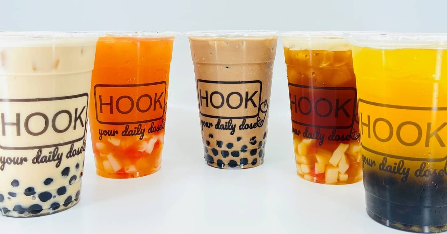 2 x Large Bubble Tea with Toppings