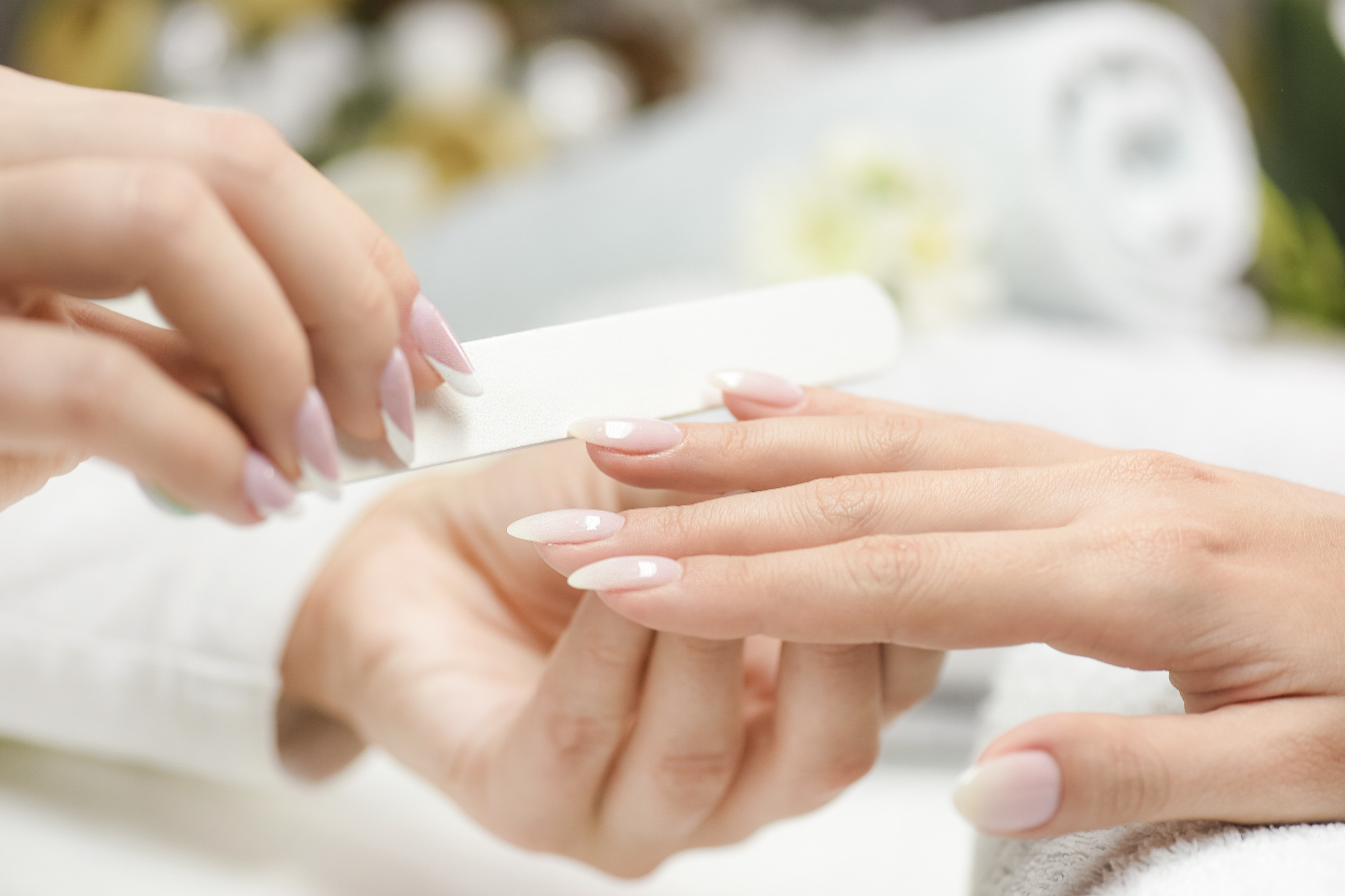 Gel Manicure + Return Soak-Off for 1 Person (2 Sessions)