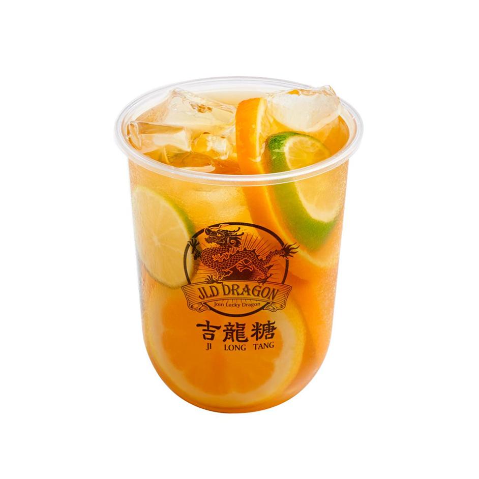 1 x Medium Golden Citrus Green Tea