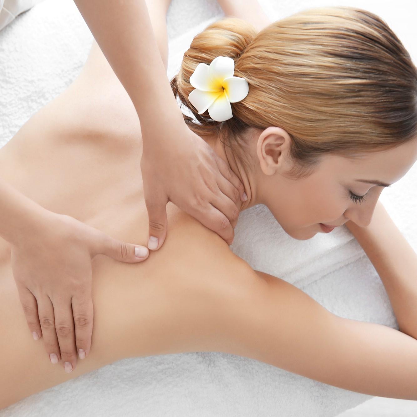 60-Min Full Body Massage for 1 Person (1 Session)