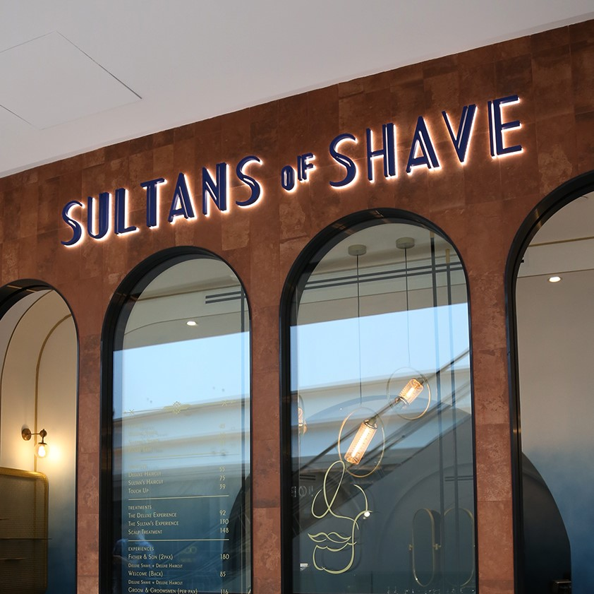 Sultans of Shave Scalp Treatment for 1 Person (2 Sessions)
