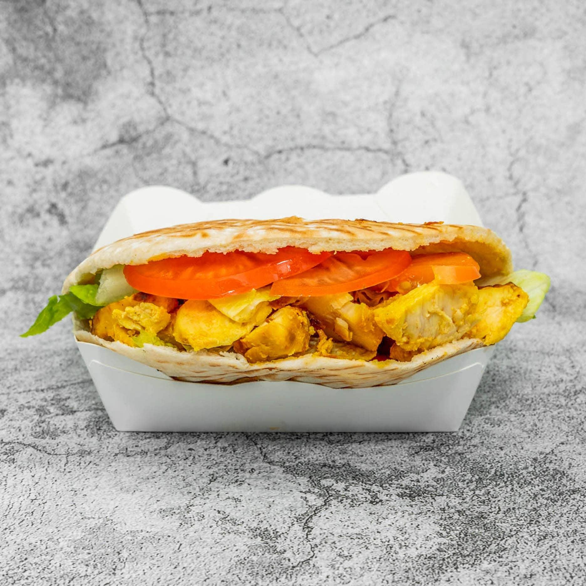 1 x Pita Pocket / Wrap (Chicken Shish / Authentic Falafel) + Soft Drink