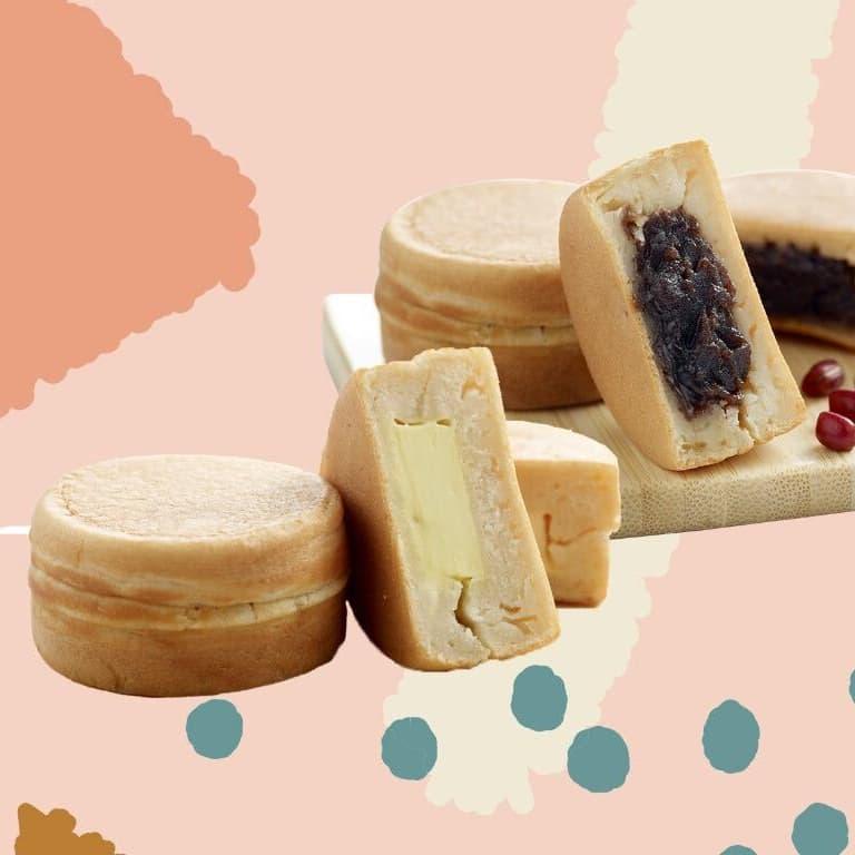 1 x Maru Pancake + 1 x Grass Jelly Soy Milk