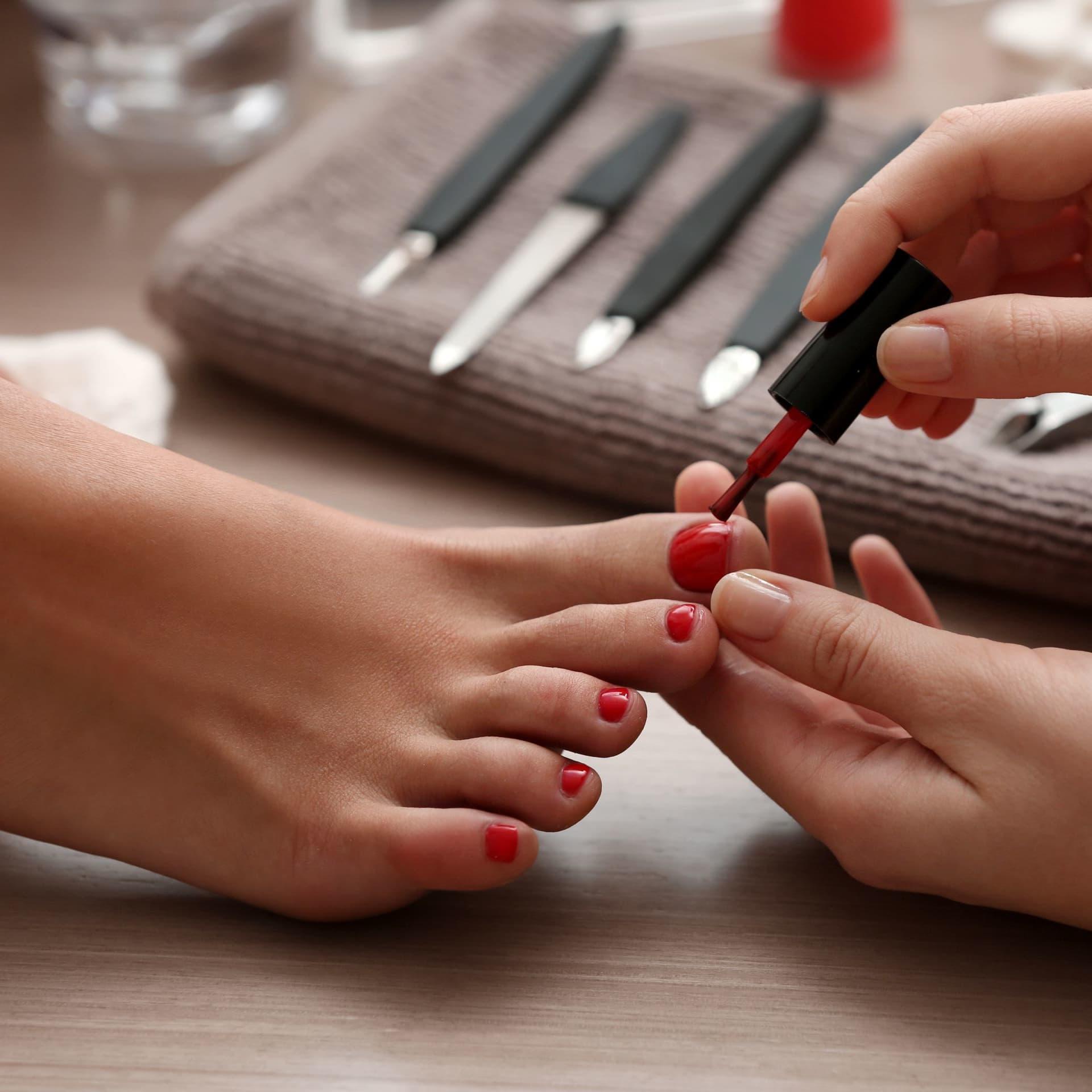 Classic Manicure + Classic Pedicure + Foot Scrub (2 Sessions)