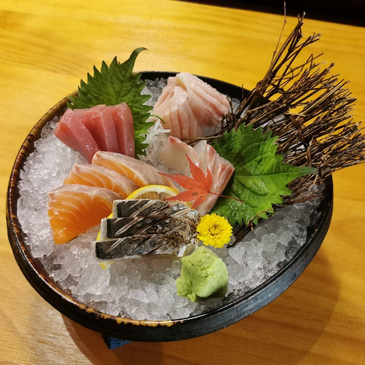 5 Kinds of Sashimi