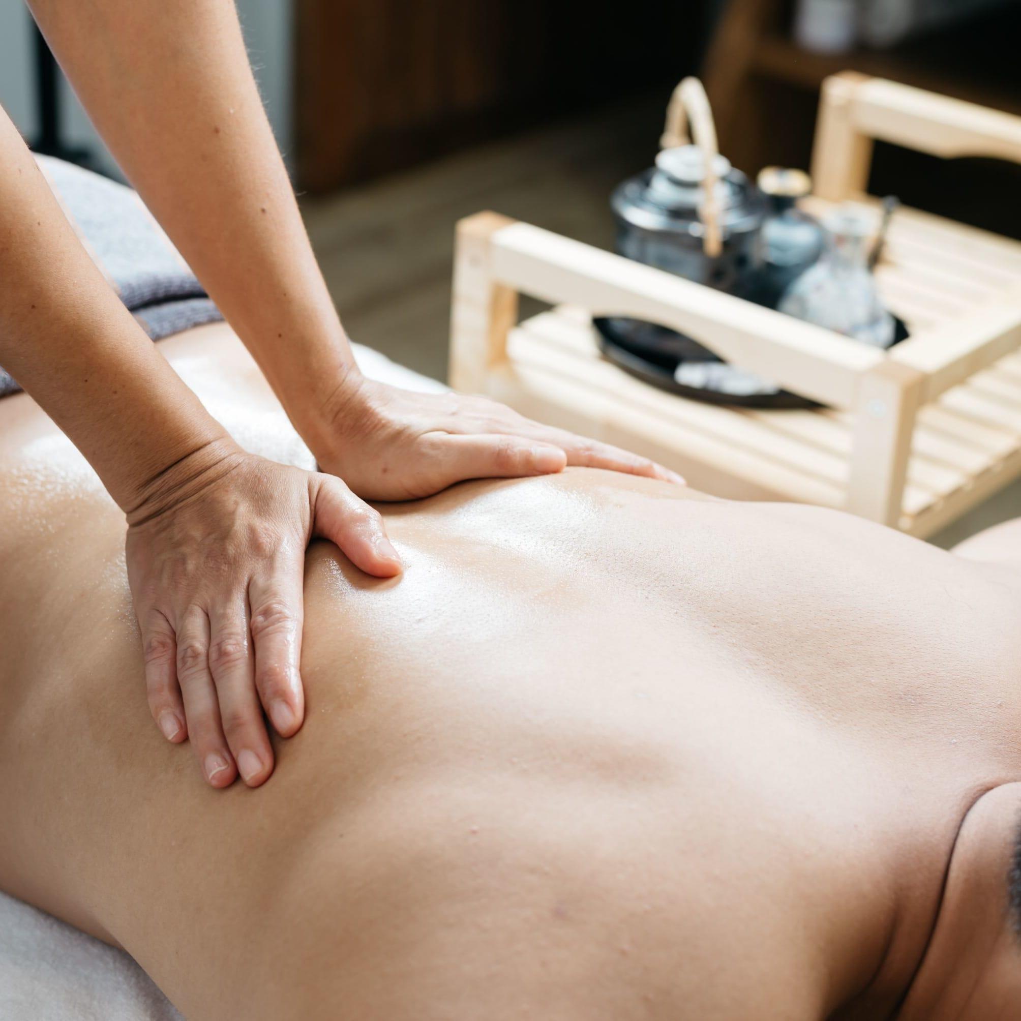 60-Min Body Massage for 1 person (1 Session)