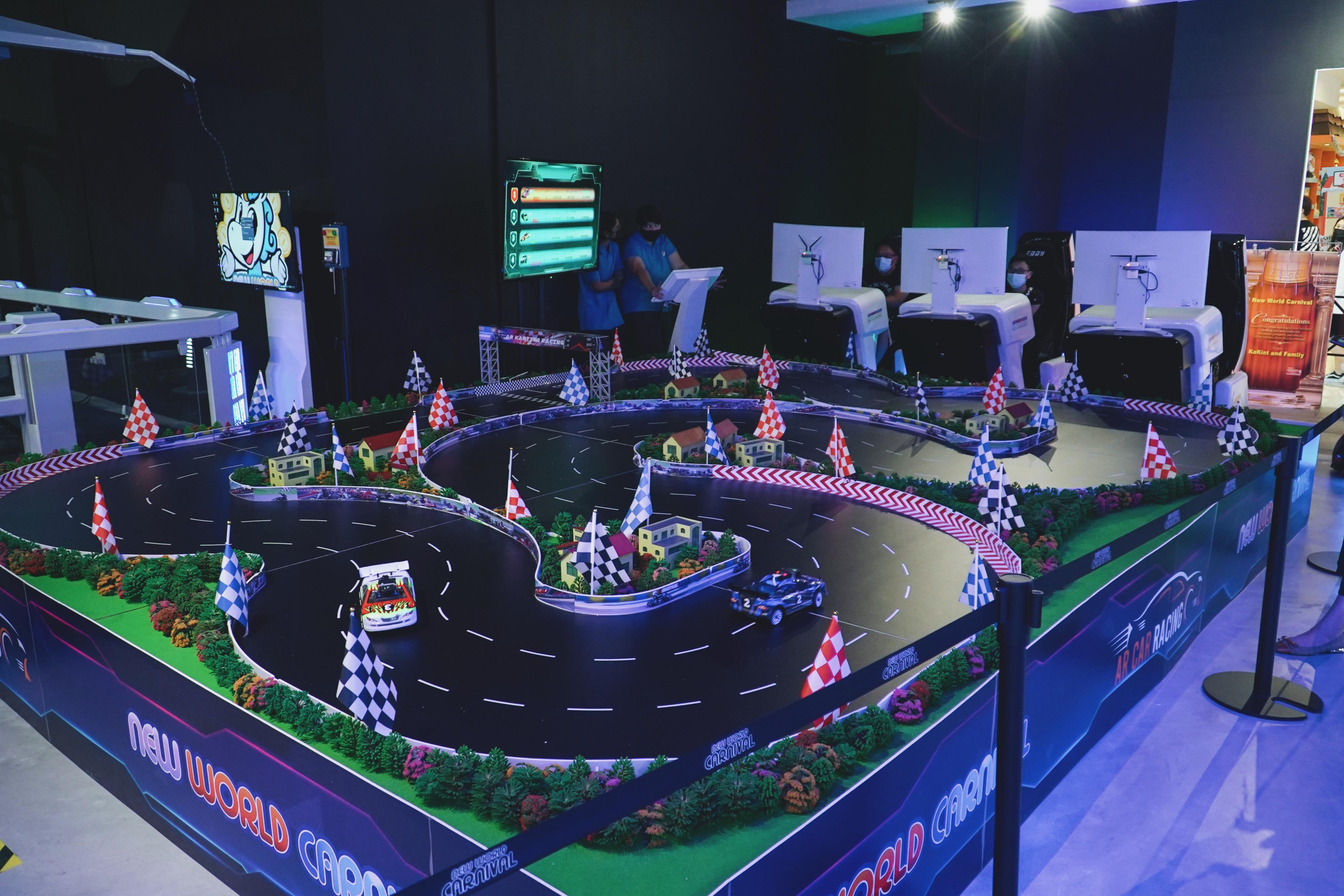 60 Virtual Reality Credits + 120 Arcade Tokens at New World Carnival - Get Deals, Cashback and Rewards with ShopBack GO