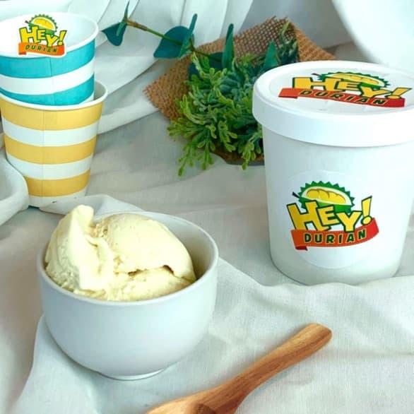 2 x D24 Durian Ice Cream Pints