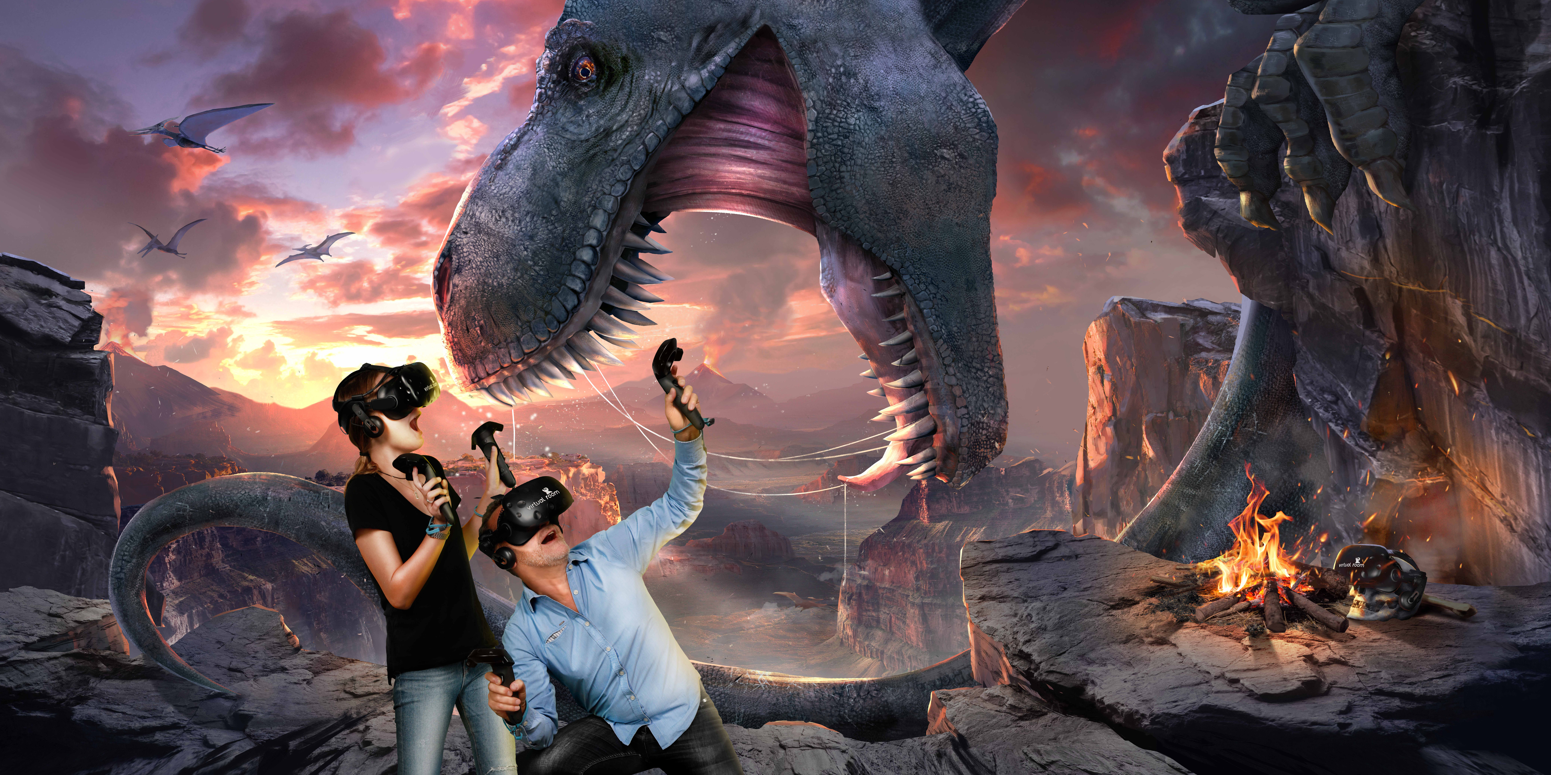 VR Adventure for 1 pax (Peak) at Virtual Room - Get Deals, Cashback and Rewards with ShopBack GO