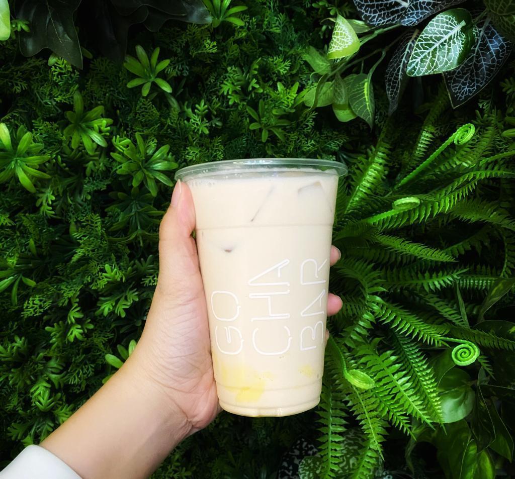 1 x Pudding Green Milk Tea