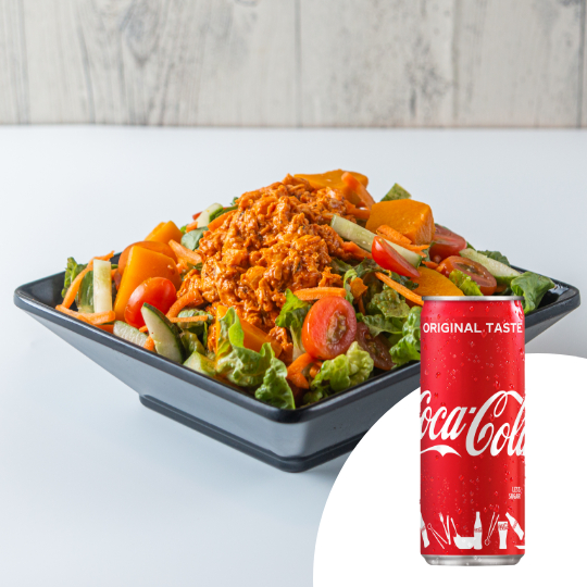 1 x Martian Delight Salad + 1 x Can of Coca-Cola at Simply Wrapps - Get Deals, Cashback and Rewards with ShopBack GO