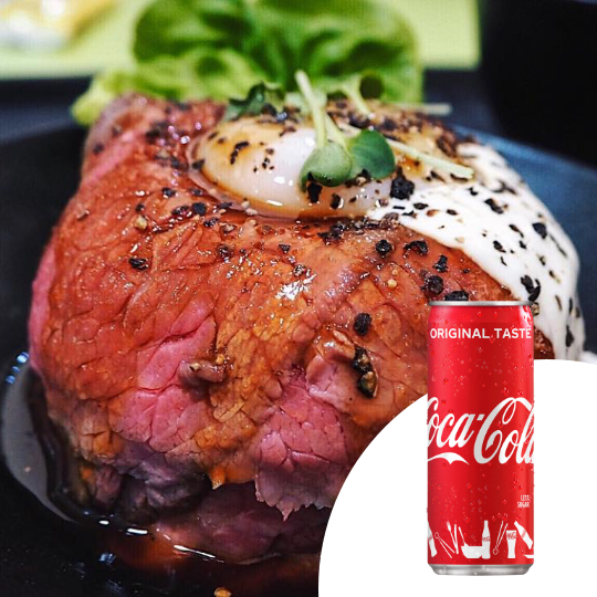 1 x Roasted Wagyu Beef Donburi + Coca-Cola [Limited Stock]