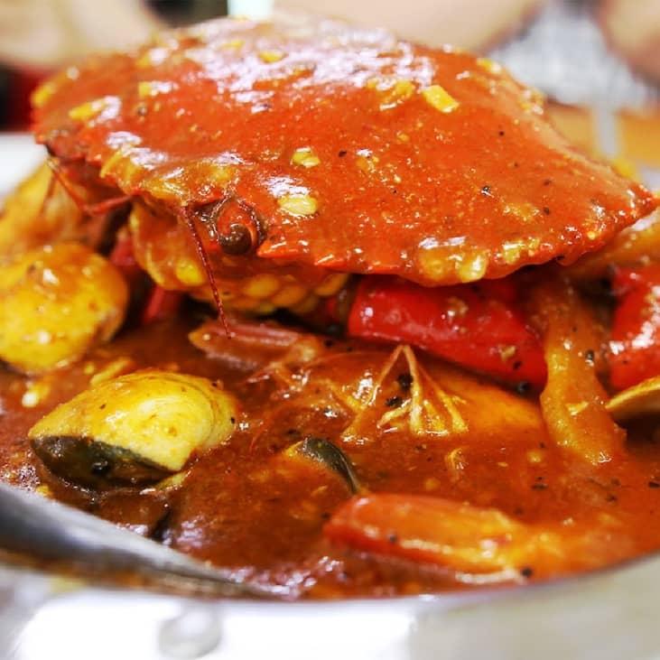 1 x Single Crab in Da Bag