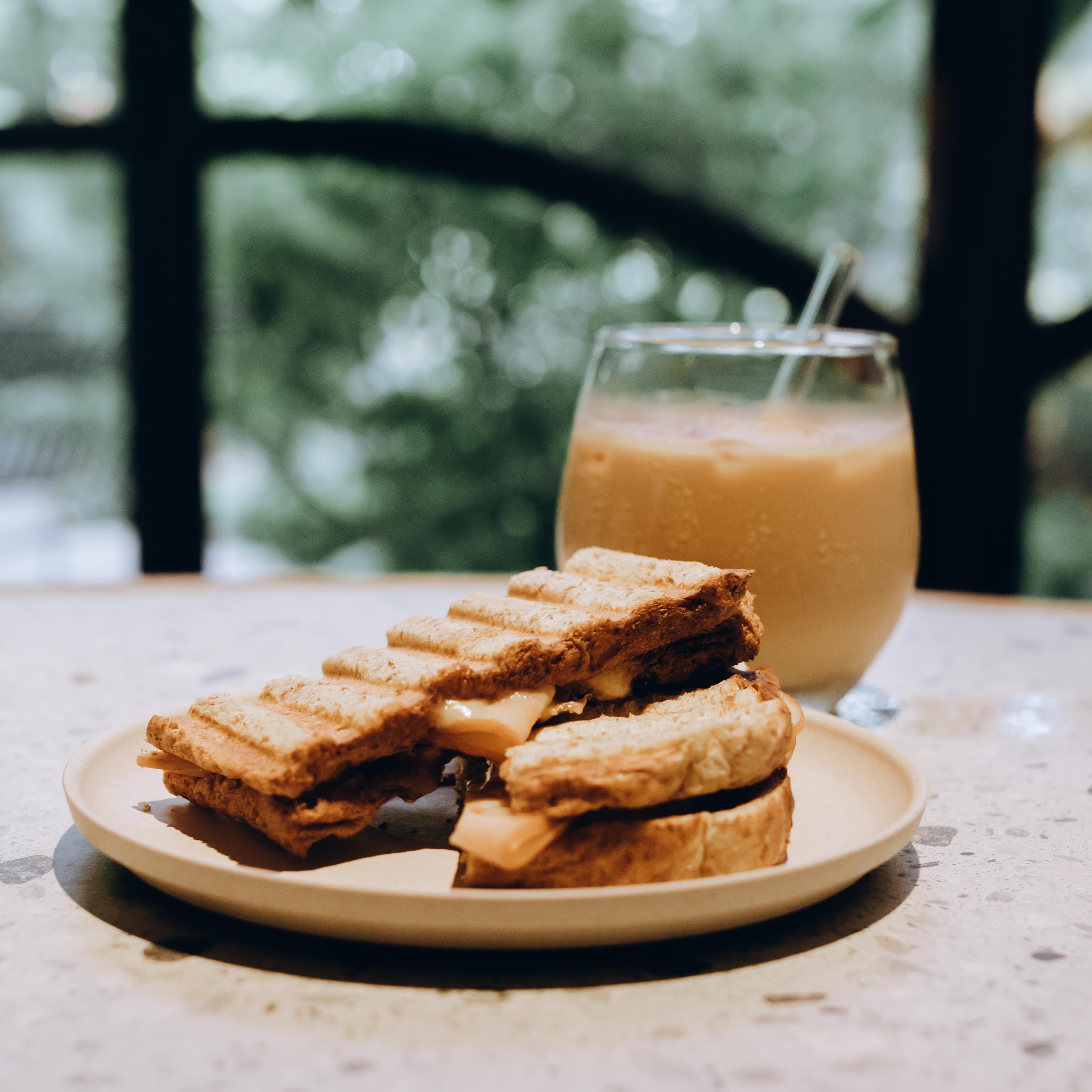 1 x Grilled Sandwich + Coffee