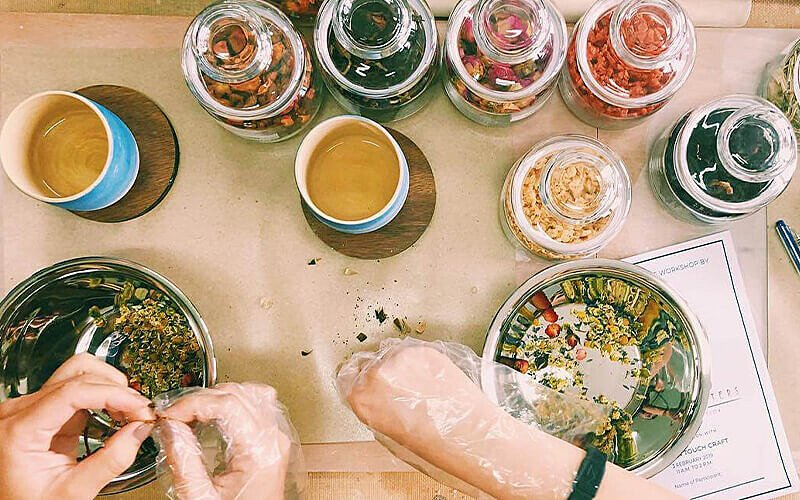 2 Hours Tea Blending Workshop (1 pax)