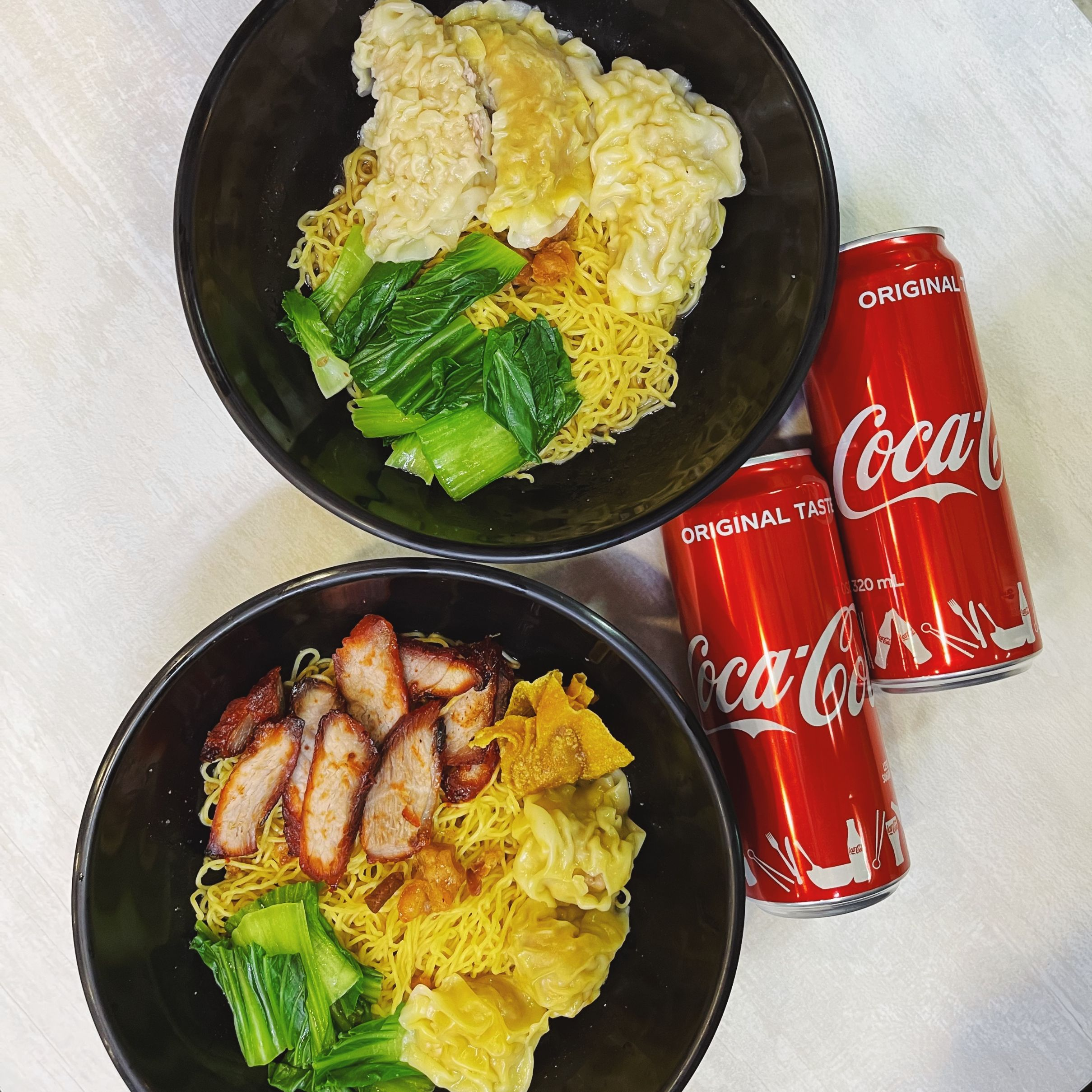 2 x Noodles + 2 x Canned Drinks