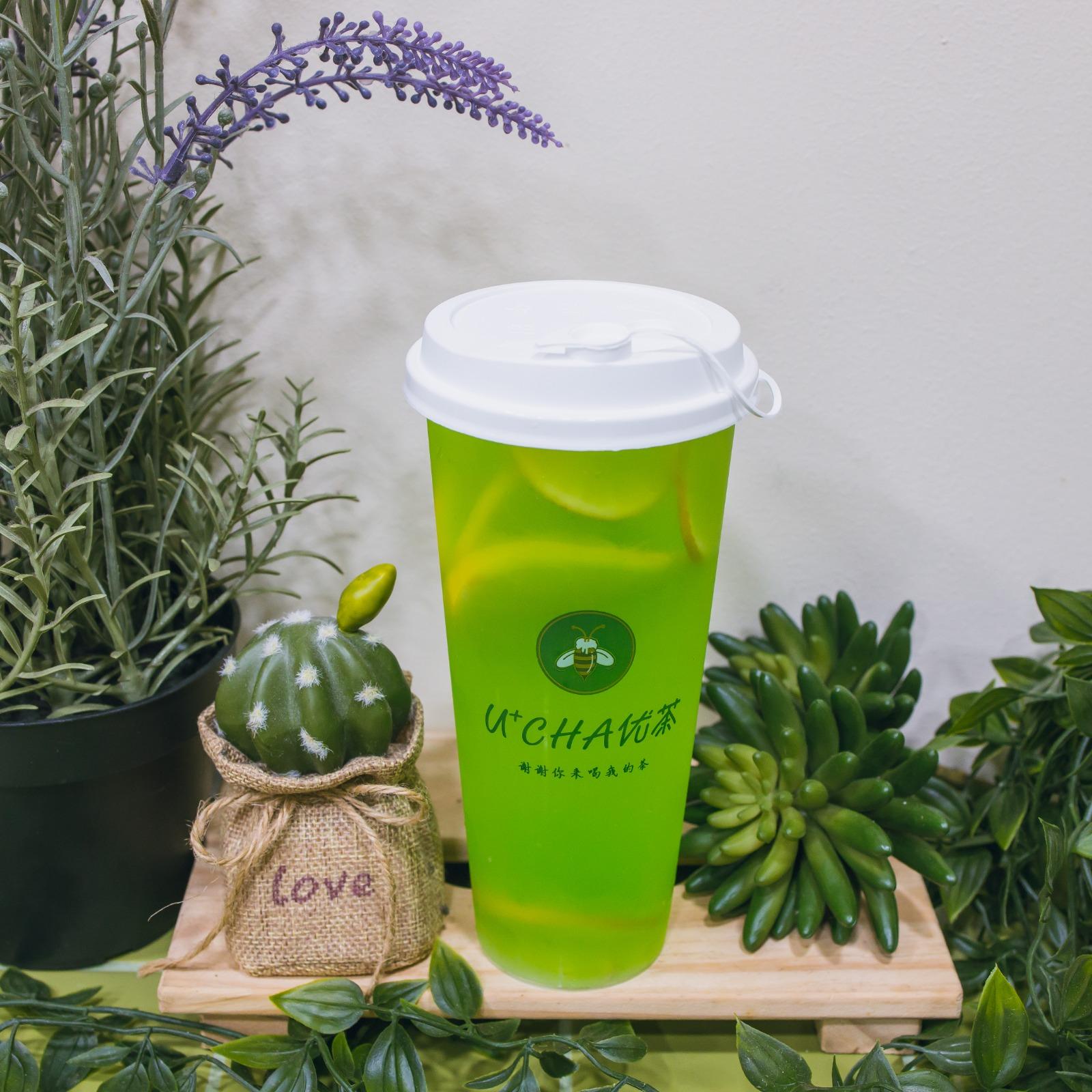 1 x U-Cha Refreshing Lemon Drink (Large Size)