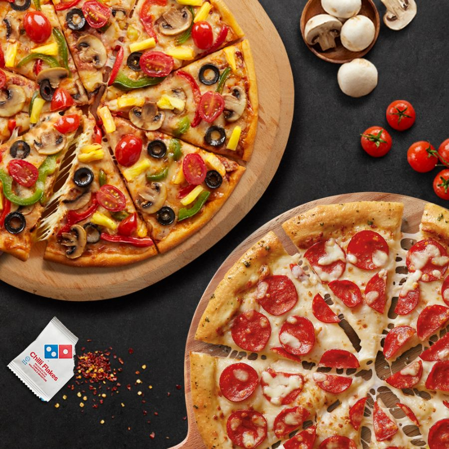 $3 Discount Voucher (Only valid on 2 Large Pizzas for $33 Promotion)