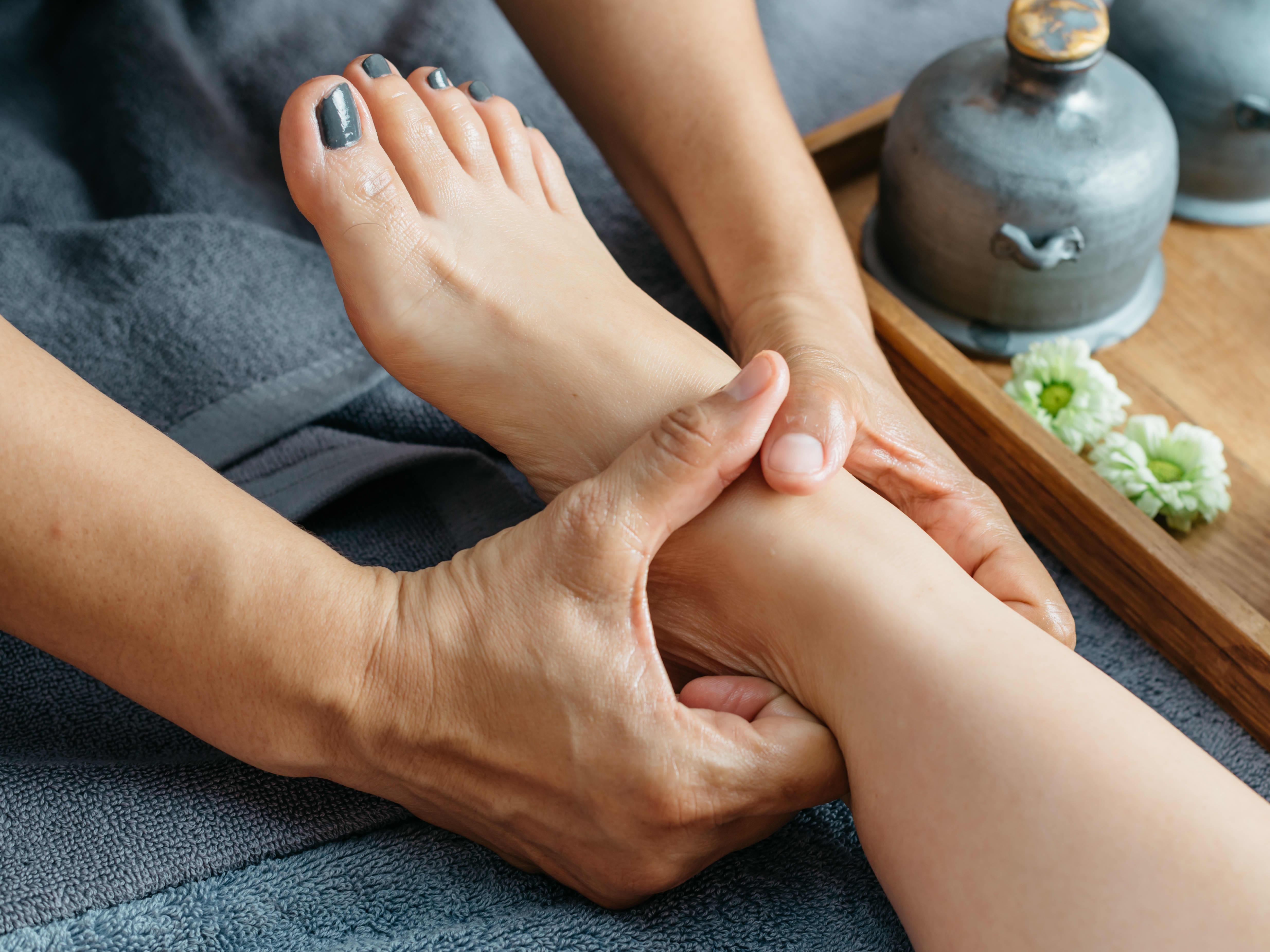 40-min Foot Massage + 20-min Neck, Shoulder Massage