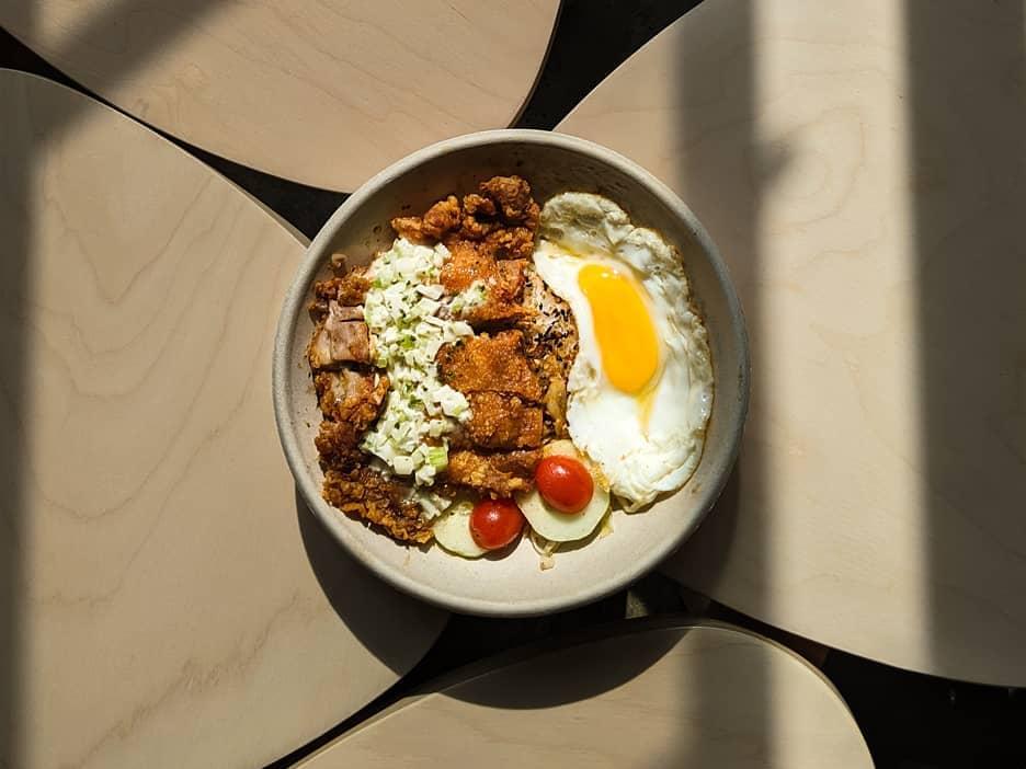 1 x O-komé Rice Bowl (Roasted Duck/ Chicken Nanban)