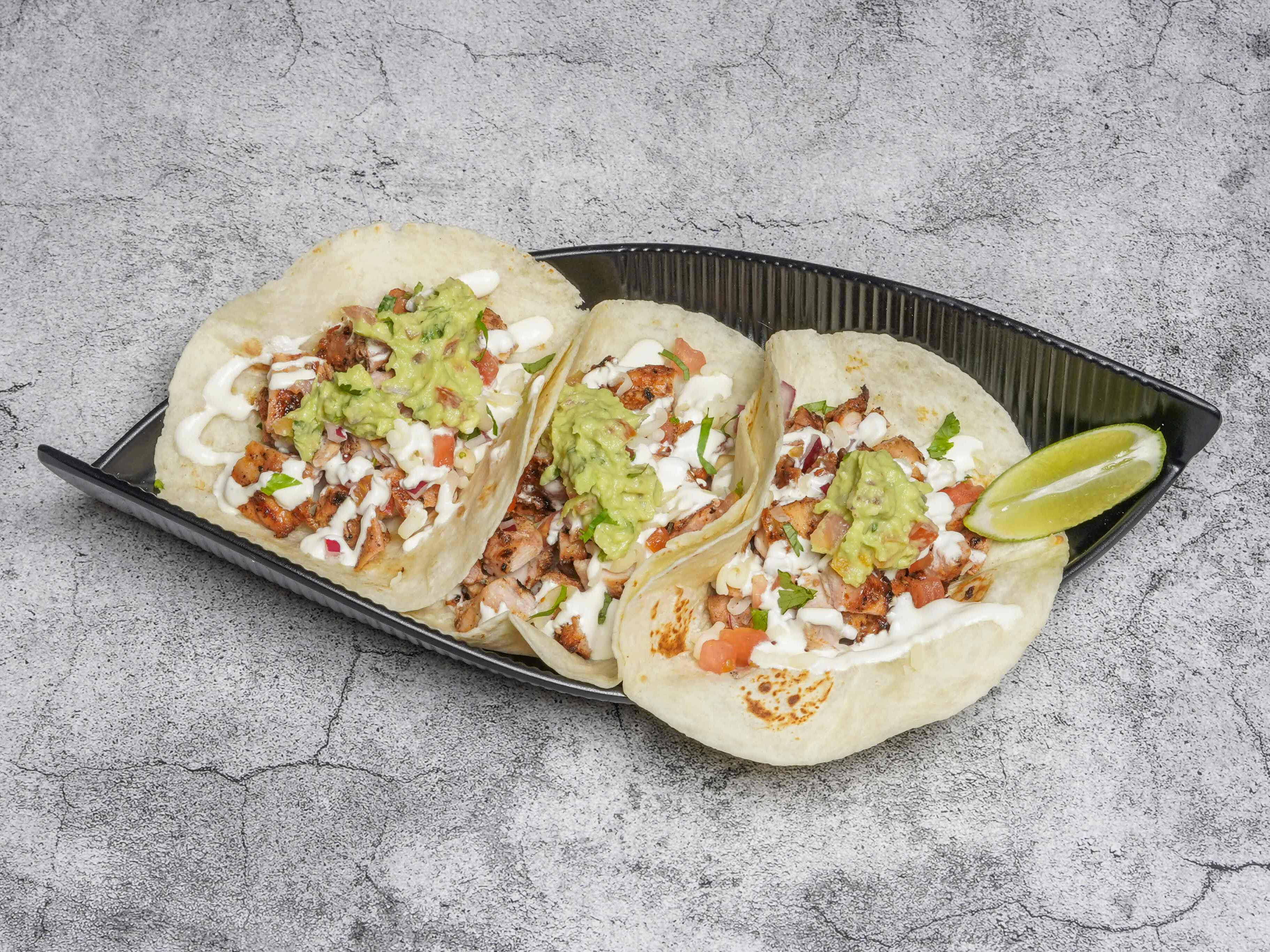 1 x Tacos (Veg / Chicken / Beef) [Limited Stock]