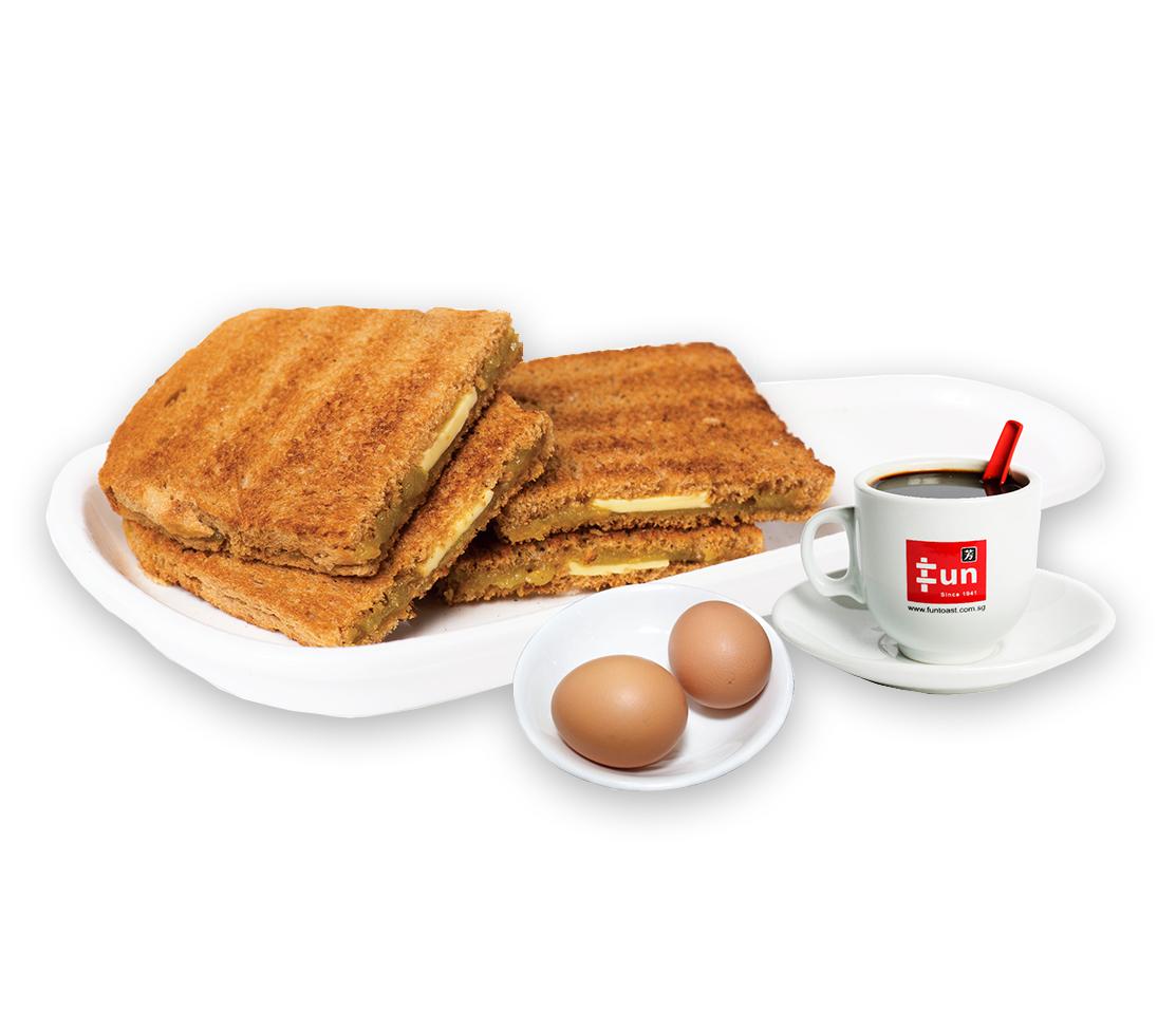 1 x Kaya Butter Toast Set