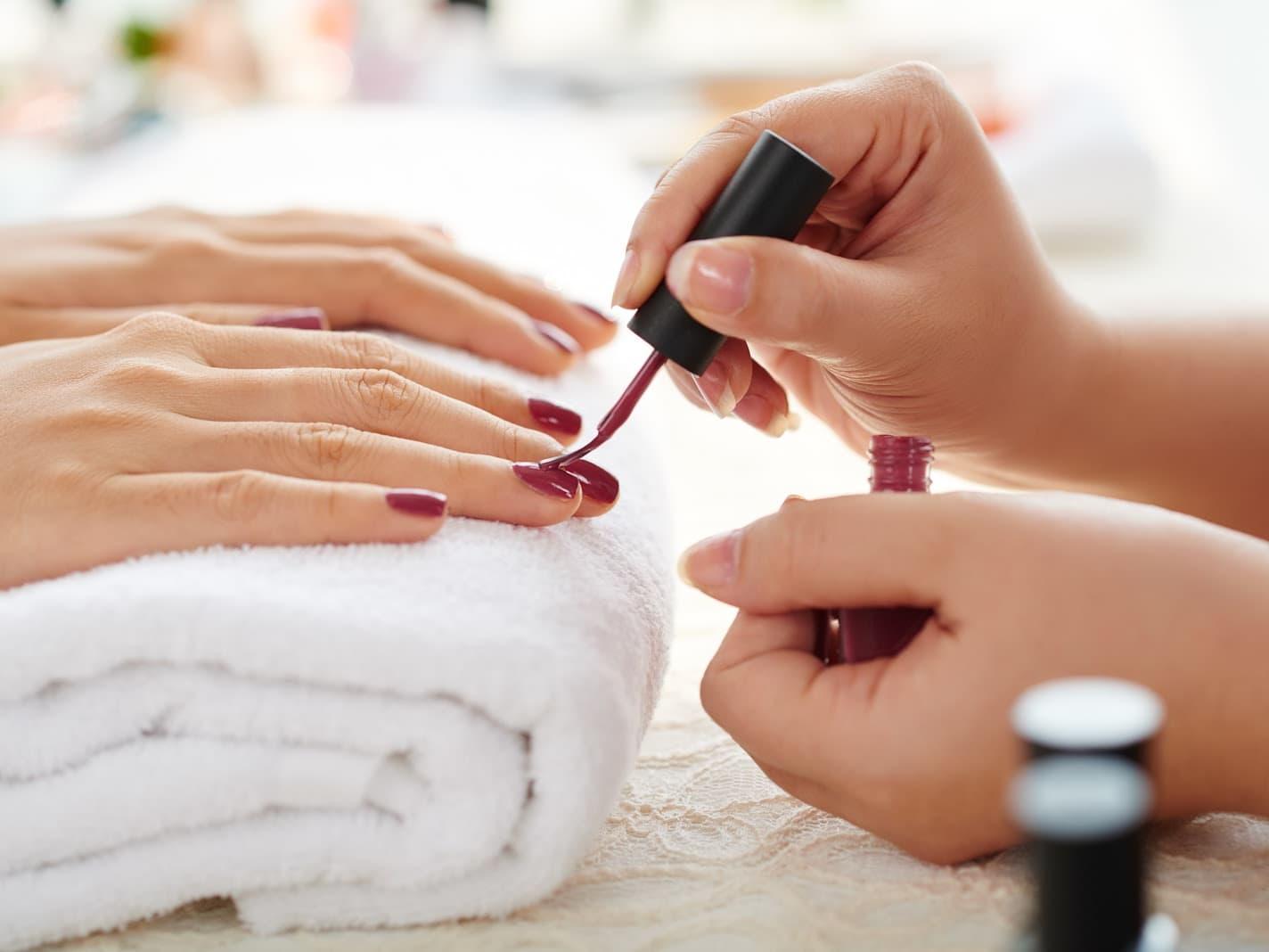 Class Manicure + Classic Pedicure + Foot Scrub for 1 Person