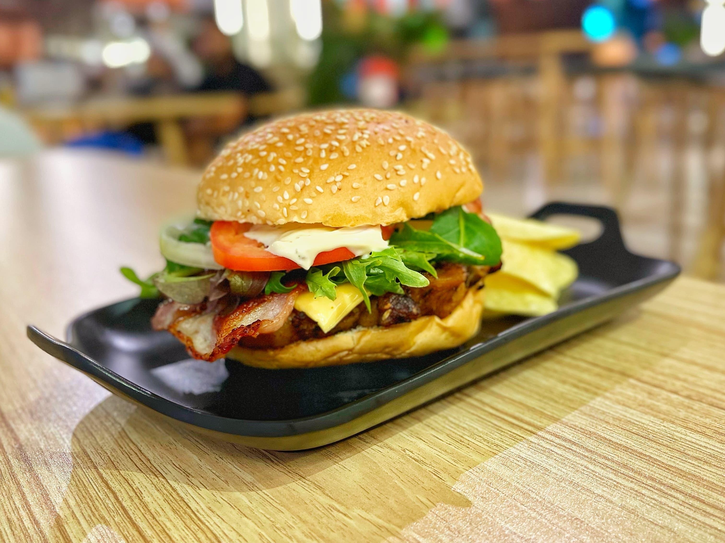 1 x Cluck O' Burger