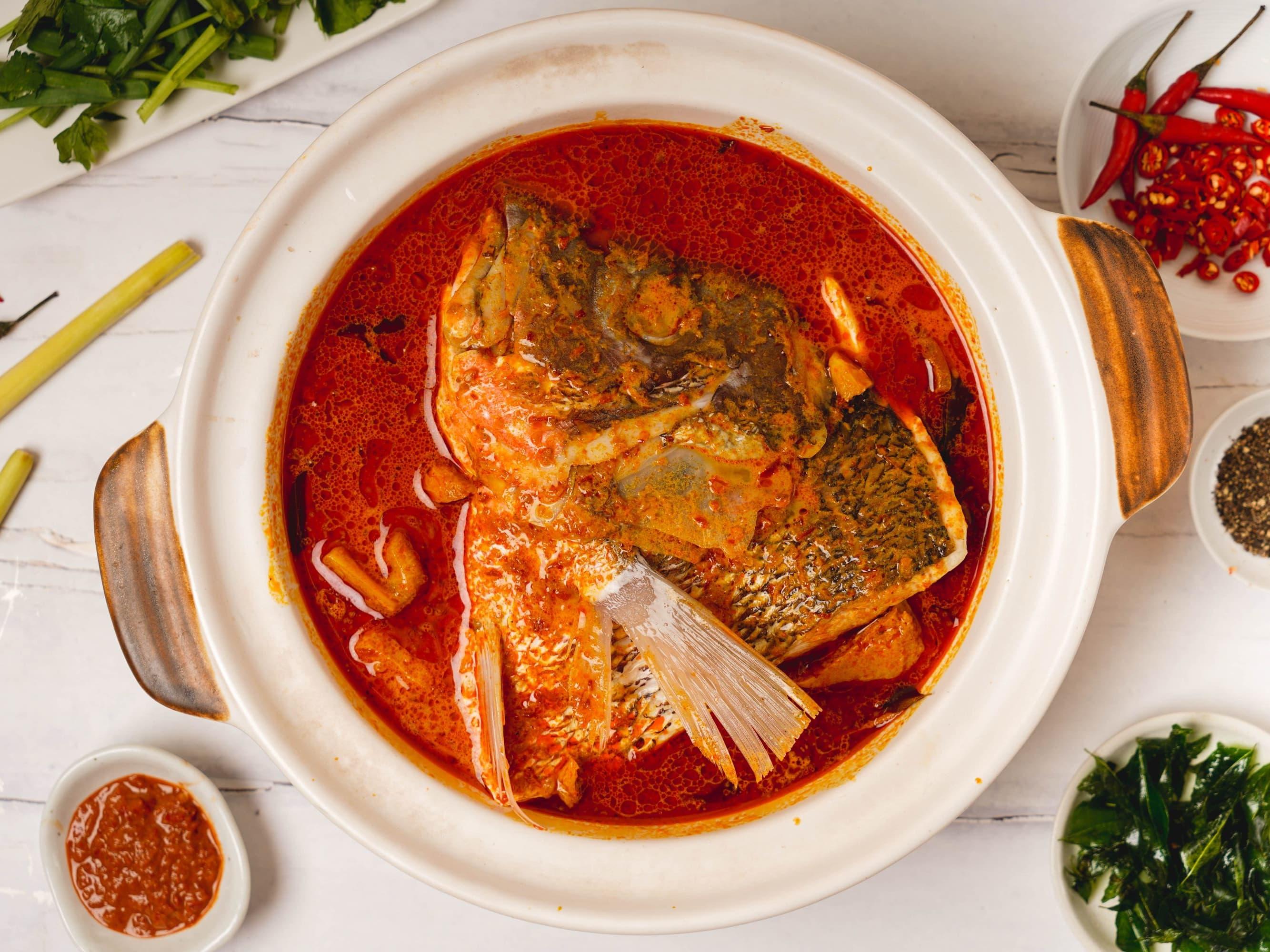 1 x Curry Fish Head