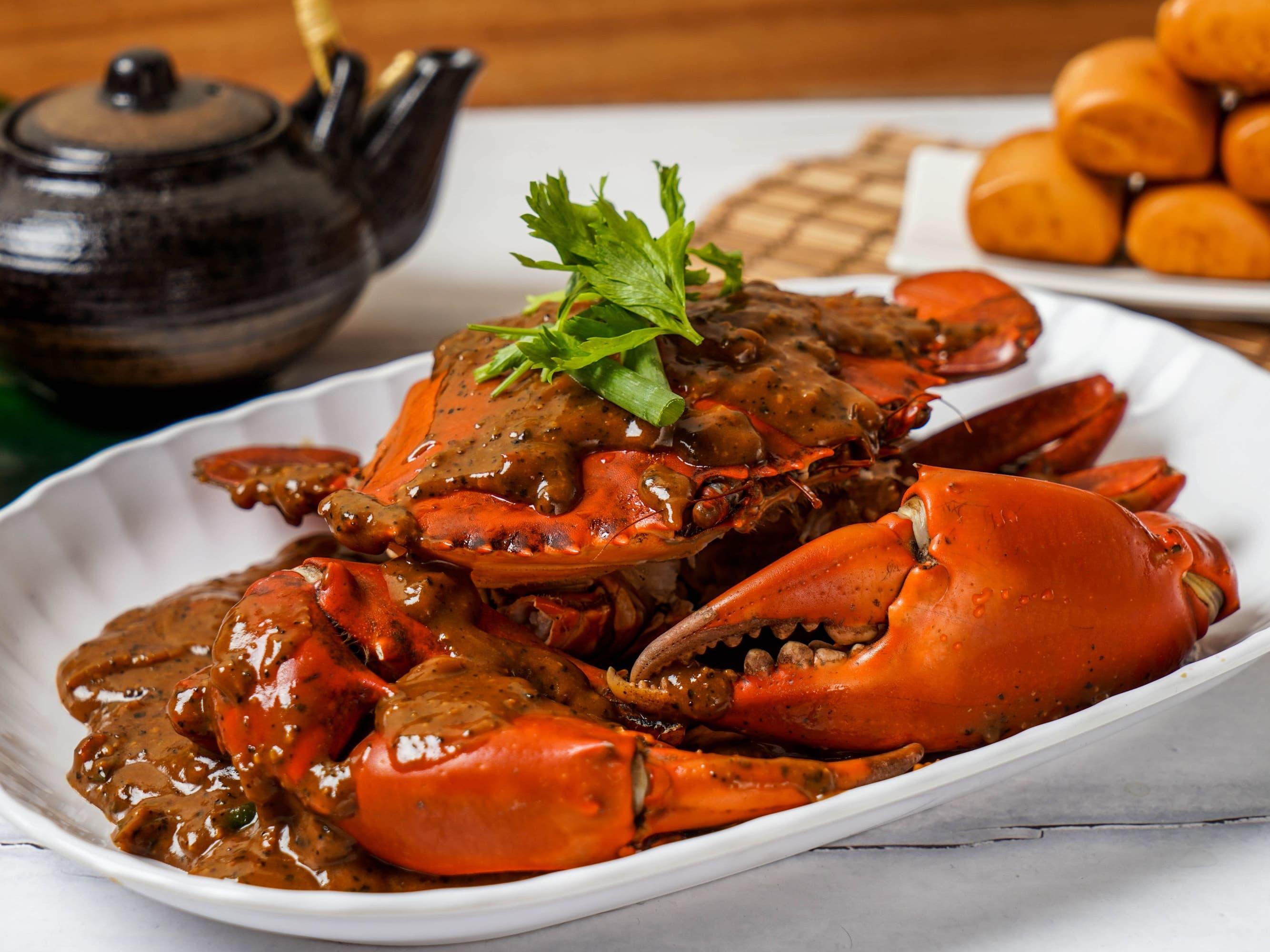 2 x Crabs + 12 x Mantou
