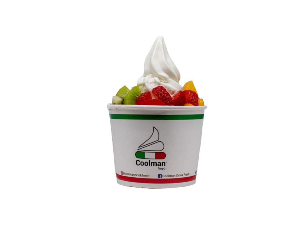1-for-1 Classic Yogurt (3 Toppings + 1 Sauce)