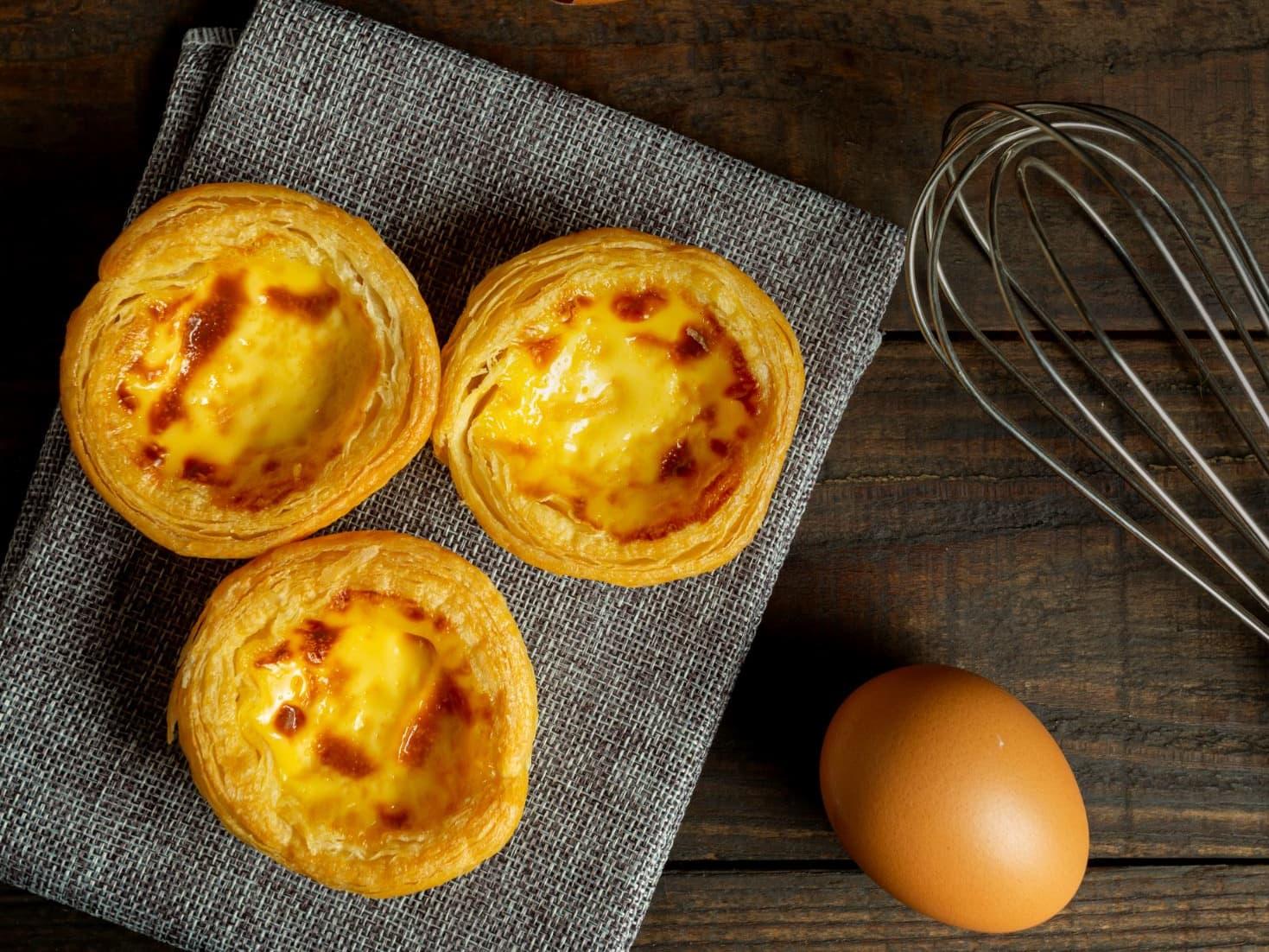 8 x Portuguese Egg Tart