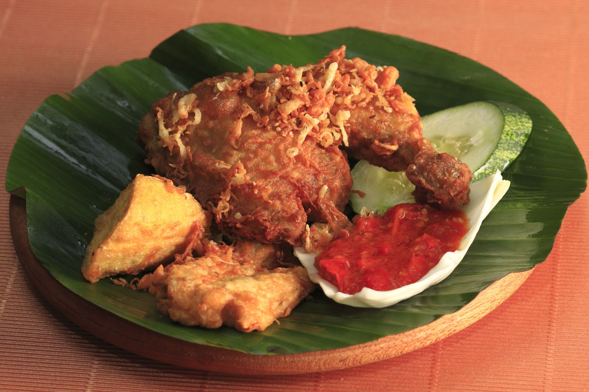 2 x Ayam Penyet/Ayam Bakar