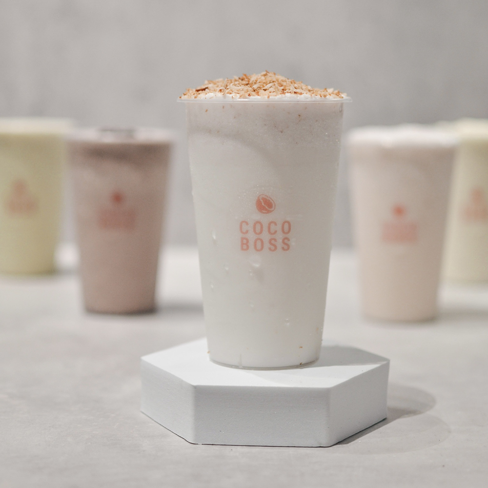 1 x OG Coconut Shake + 1 x Crafted Coconut Shake