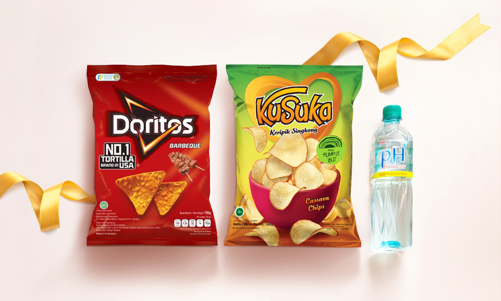 2 x Assorted Chips + Bottled Alkaline Water [Limited Stock]