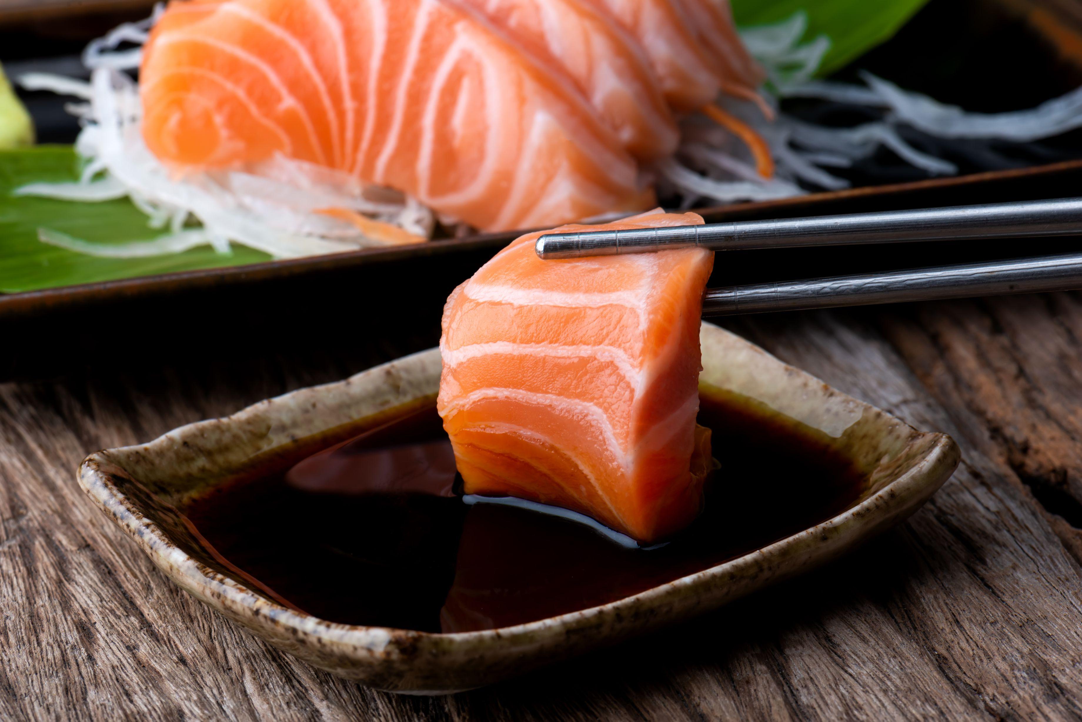 1 x Salmon Sashimi - Premium Air-flown from Norway