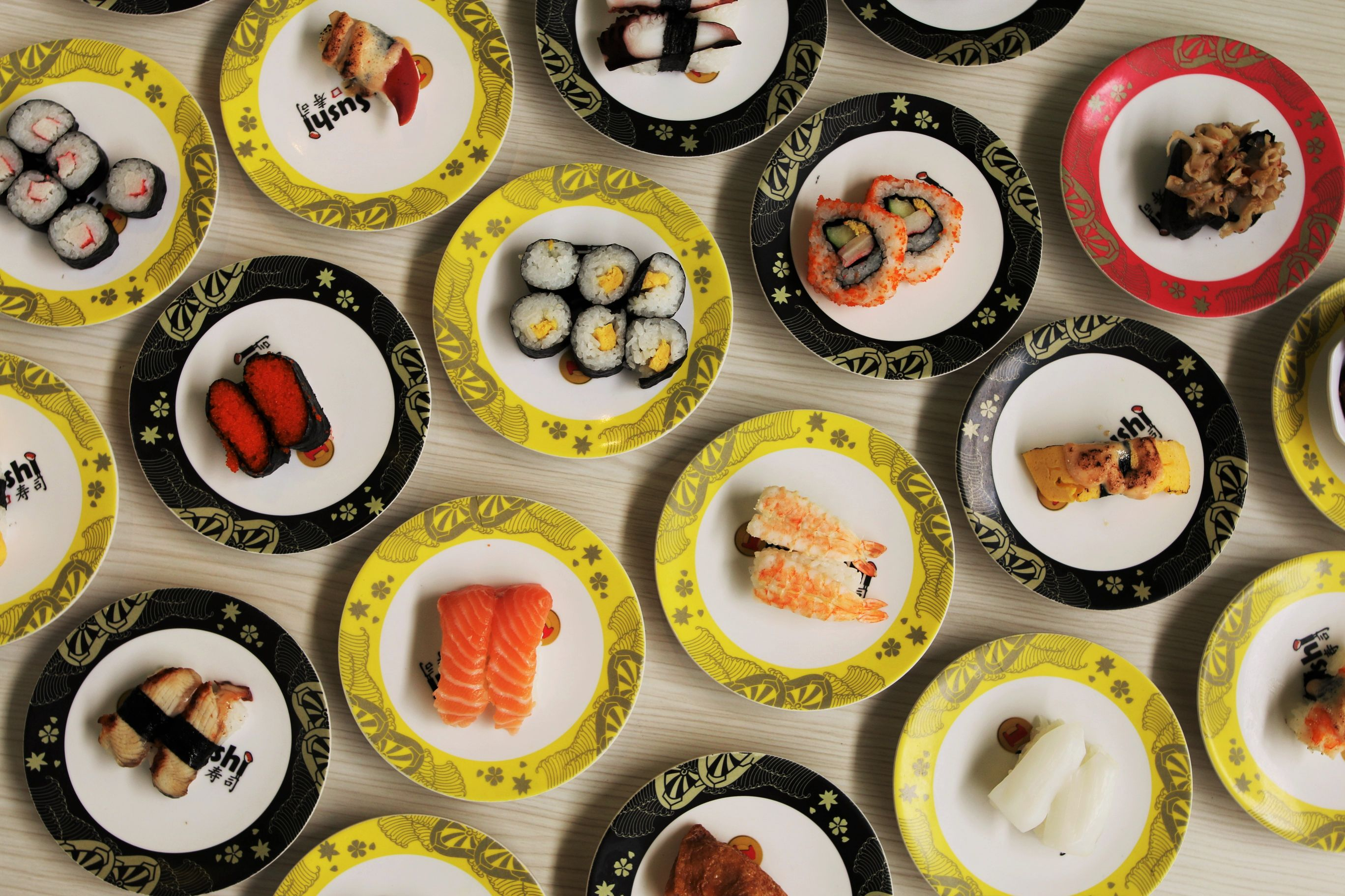 1 x Sushi Plate