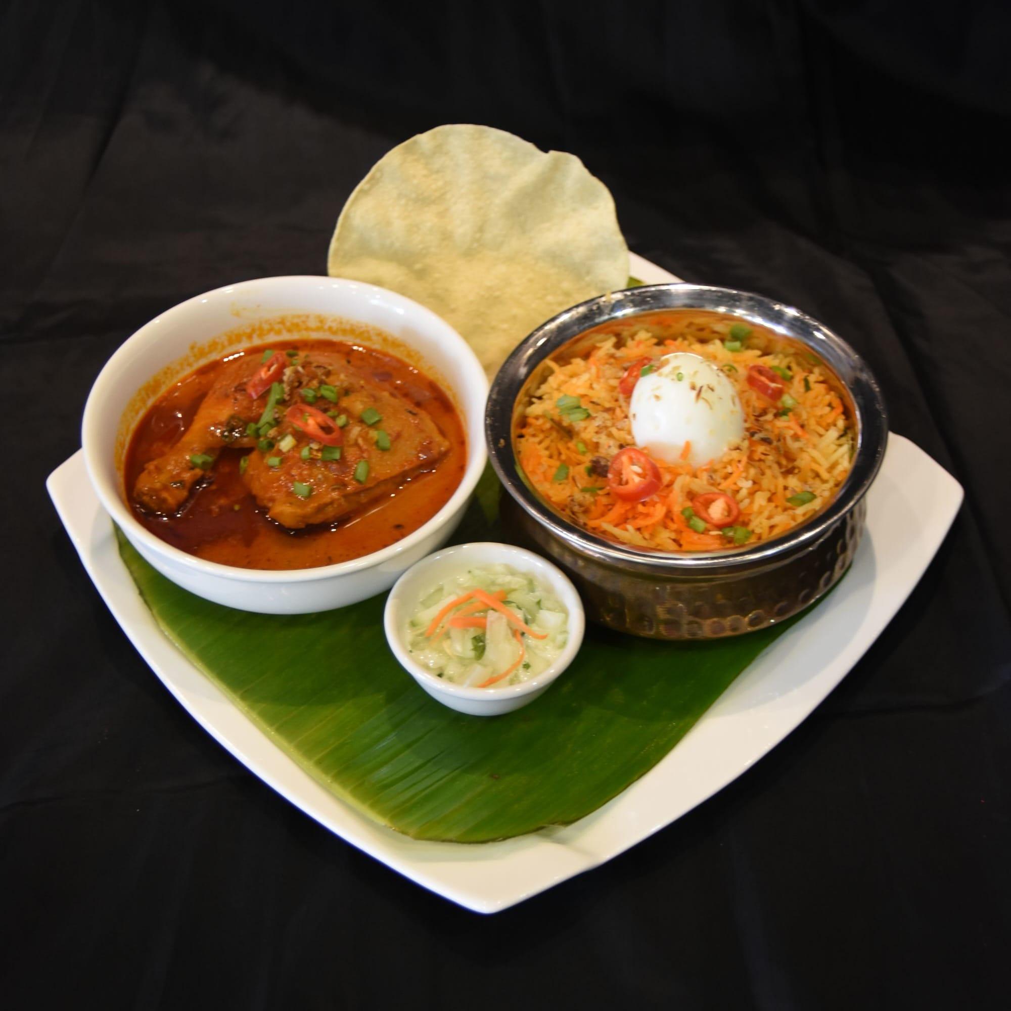 1 x Curry Fish Head Set