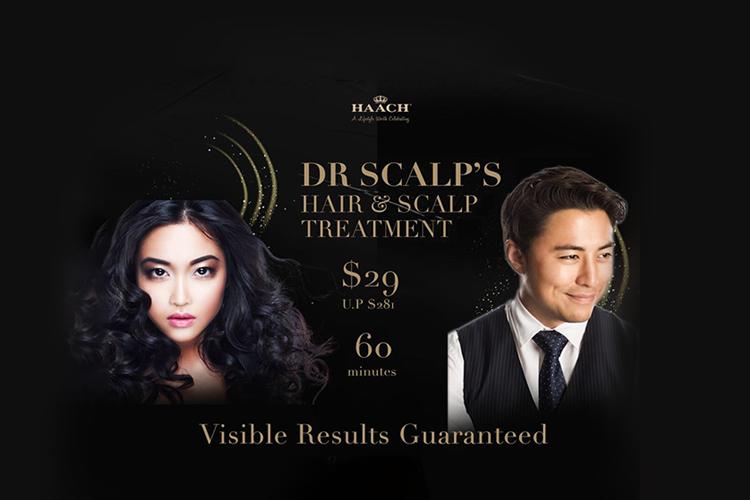 60 min Dr Scalp Treatment