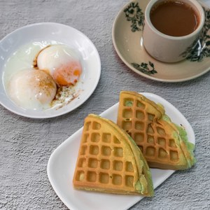 1 x Kaya Toast/Waffle Set